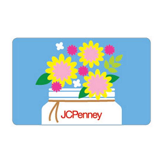Flower Jar Gift Card