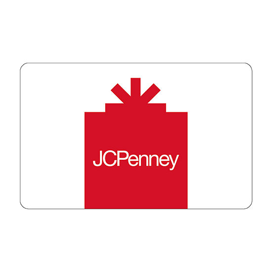 $100 JCP Red Gift Card
