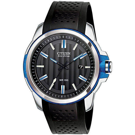 Drive from Citizen® Eco-Drive® Blue Accent Strap Watch AW1151-04E
