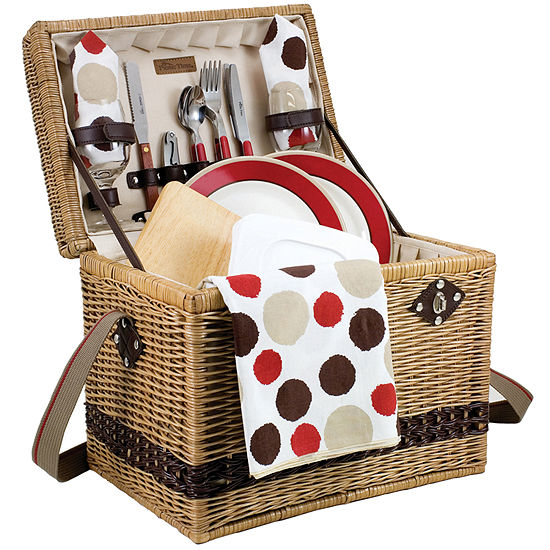 Picnic Time® Yellowstone Picnic Basket for Two