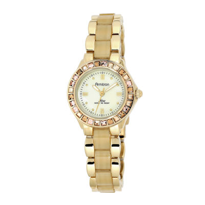 Armitron® Now® Womens Crystal-Accent Horn-Look Bracelet Watch