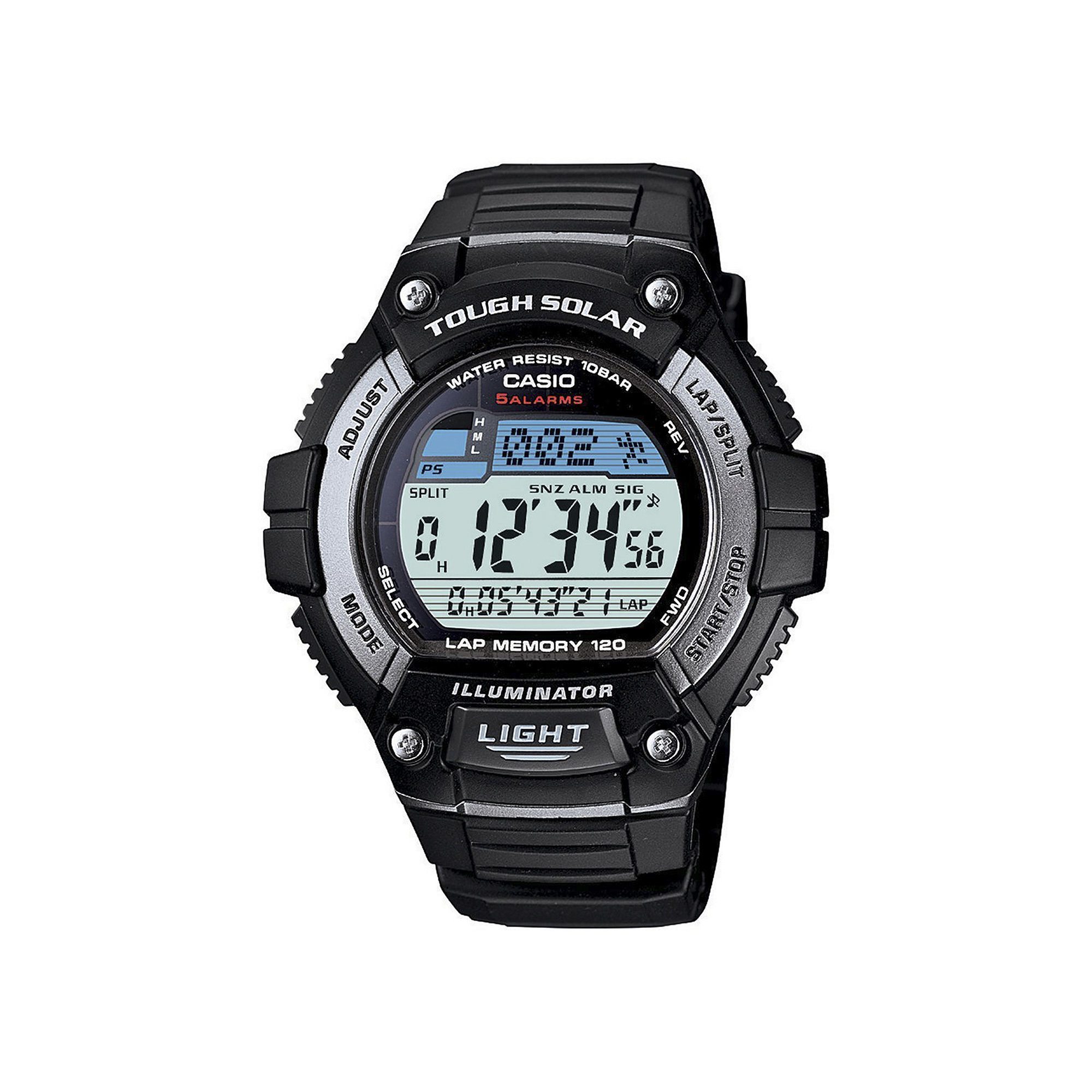 Casio Tough Solar Illuminator Mens Digital Watch WS220-1A
