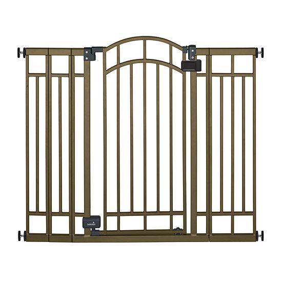 Summer Infant Multi Use Deco Extra Tall Walk Thru Gate Bronze