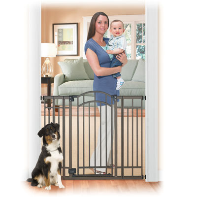 Summer Infant® Multi-Use Deco Extra Tall Walk-Thru Gate - Bronze