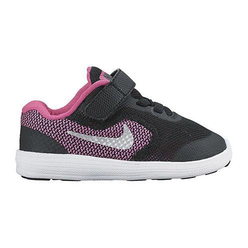Nike Revolution 3 Girls Running Shoes Toddler Jcpenney