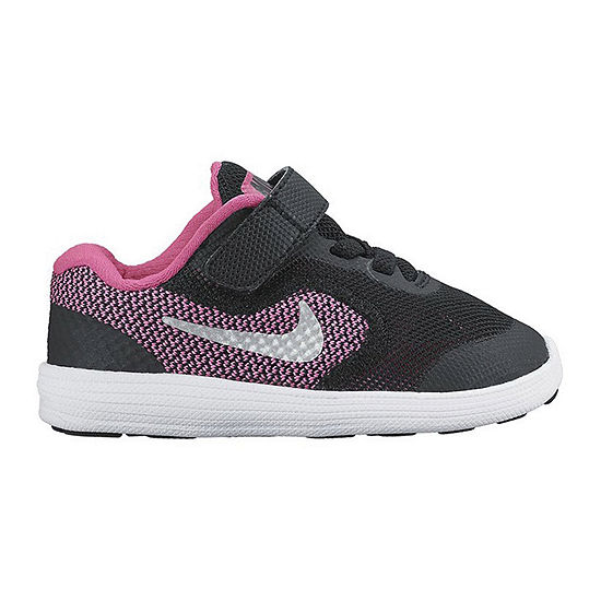9ef1f1a347482 Nike Revolution 3 Girls Running Shoes Toddler JCPenney