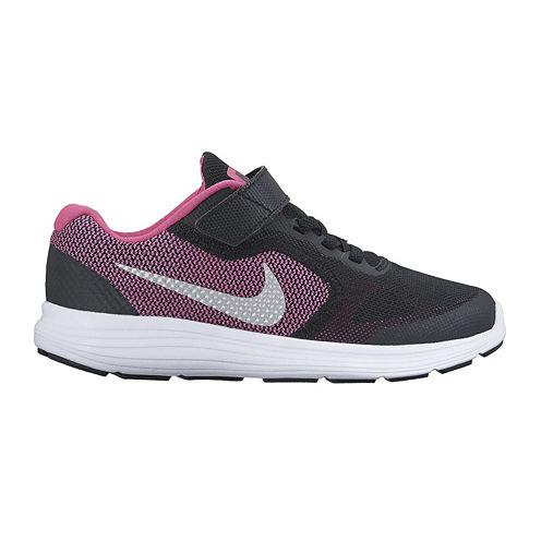 Nike® Revolution 3 Girls Running Shoes - Little Kids