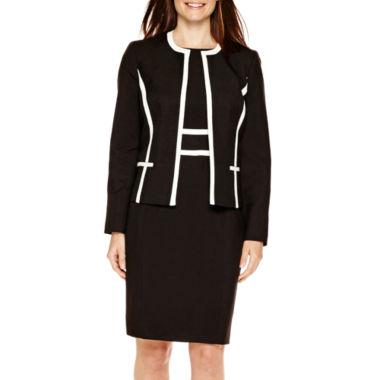 jcpenney.com | Black Label by Evan-Picone Contrast-Trim Jacket or Sheath Dress