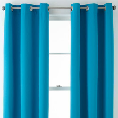 Home Expressions™ Clement Blackout Grommet-Top Curtain Panel