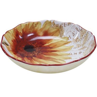 Certified International Paris Sunflower Serving Bowl