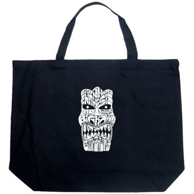Los Angeles Pop Art Tiki - Big Kahuna Tote