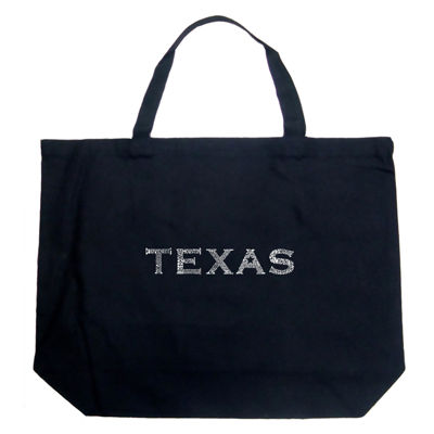Los Angeles Pop Art The Great Cities Of Texas Tote