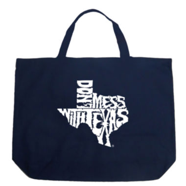 Los Angeles Pop Art Dont Mess With Texas Tote