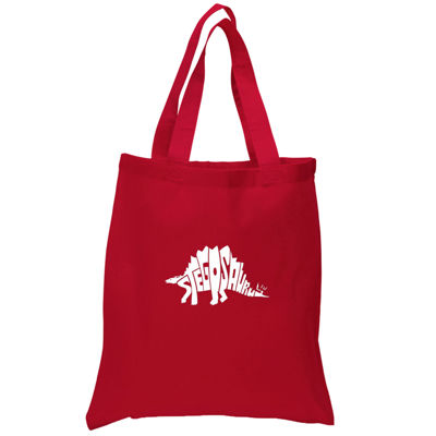 Los Angeles Pop Art Stegosaurus Tote