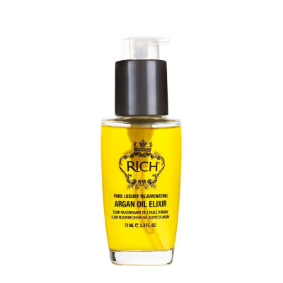 Rich Argan Oil Elixir Hair Oil - 2.3 oz.