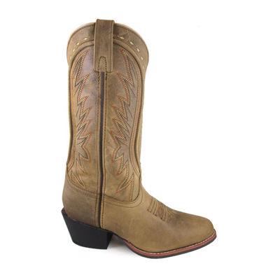 "Smoky Mountain Women's Sienna 12"" Leather Cowboy Boot"