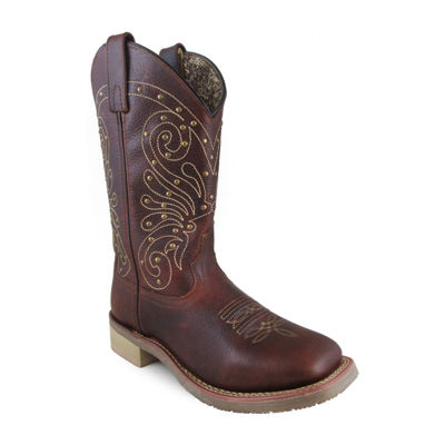 "Smoky Mountain Women's Summer 11"" Leather Cowboy Boot"