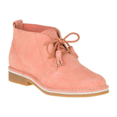Hush Puppies Womens Cyra Catelyn Booties Lace-up