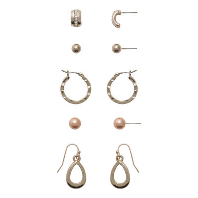 Sensitive Ears 5 Pair Earring Set