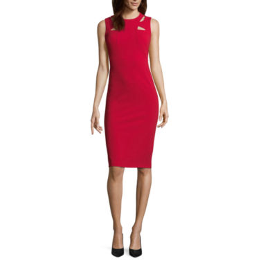 Spense Sleeveless Panel Front Dress