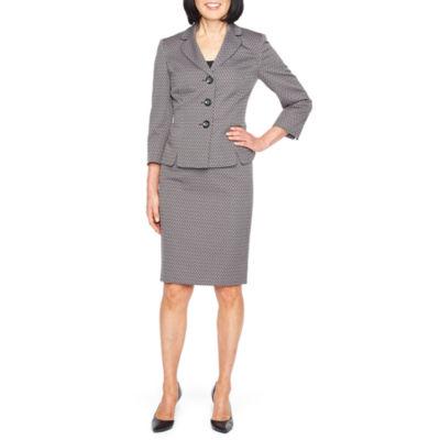 Le Suit Diamond Skirt Suit
