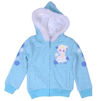 Disney by Okie Dokie Frozen Hoodie-Toddler Girls