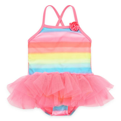 Angel Beach Ombre One Piece Swimsuit Toddler Girls