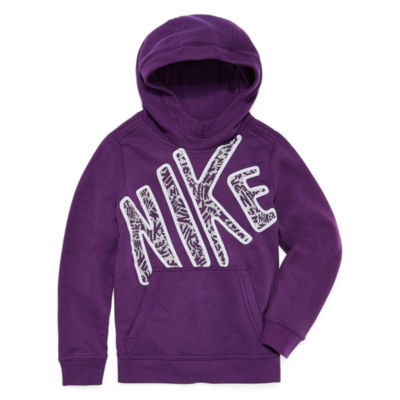 Nike Jumble Pullover Hoodie - Girls' 7-16