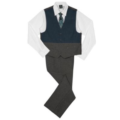 Steve Harvey 4-pc. Vest Set Preschool Boys