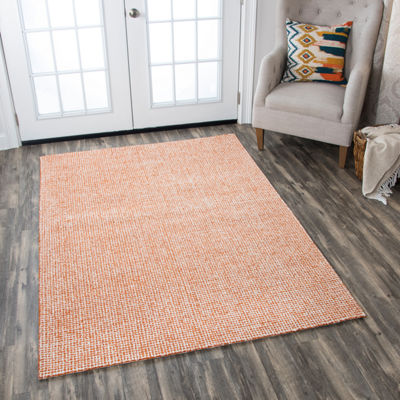 Rizzy Home Brindleton Collection Aubrey Solid Rectangular Rugs
