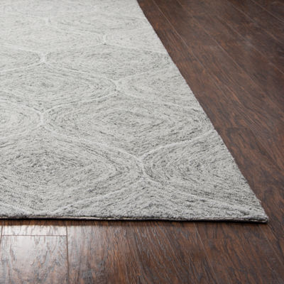 Rizzy Home Brindleton Collection Victoria Ogee Rectangular Rugs