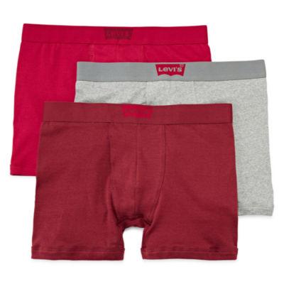 Levi's Cotton 3-pc. Boxer Briefs-Big