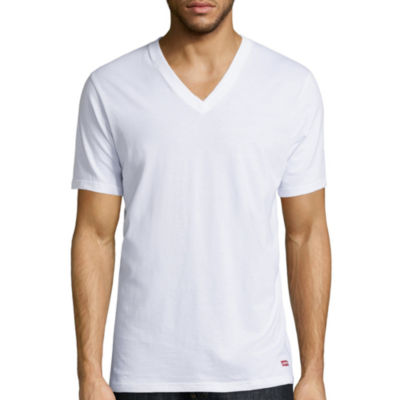 Levi's Cotton 3-pc. Short Sleeve Crew Neck T-Shirt-Tall