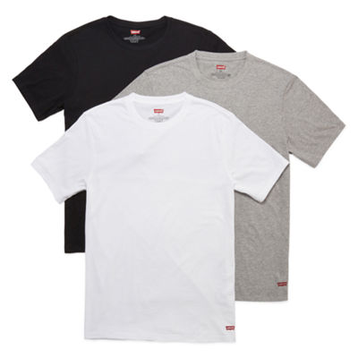 Levi's Cotton 3-pc. Short Sleeve Crew Neck T-Shirt-Big and Tall