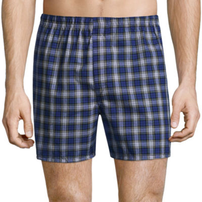 Hanes® Men's Woven 4 + 2 Bonus Pair Boxers - Men's