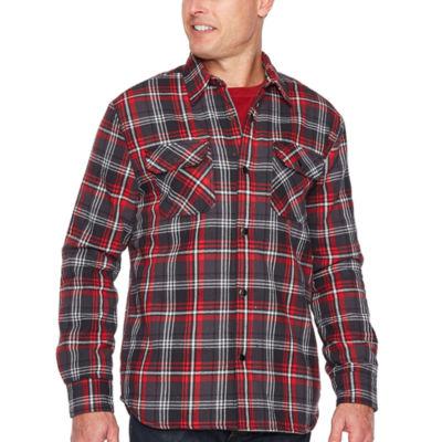 Big Mac Sherpa Lined Shirt Jacket