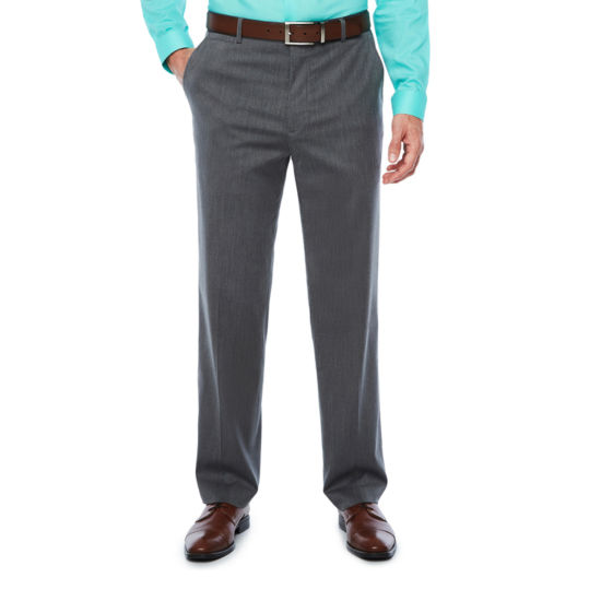 JF J.Ferrar Pin Dot Classic Fit Stretch Suit Pants
