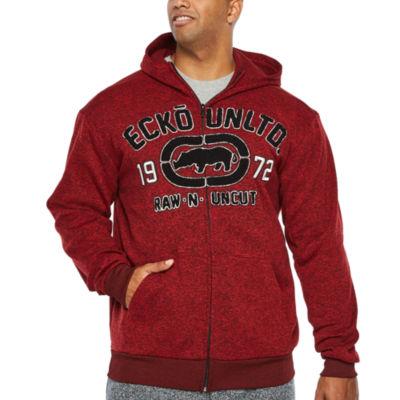 Ecko Unltd Lightweight Fleece Jacket - Big and Tall