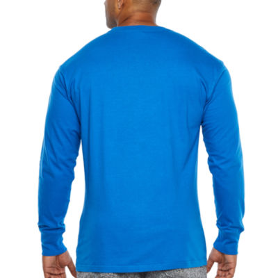 Ecko Unltd Long Sleeve Crew Neck T-Shirt-Big and Tall