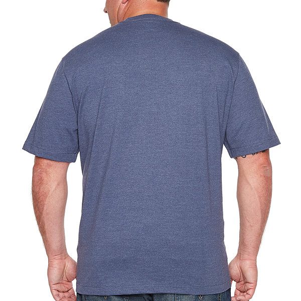 IZOD Short Sleeve Crew Neck T-Shirt-Big and Tall