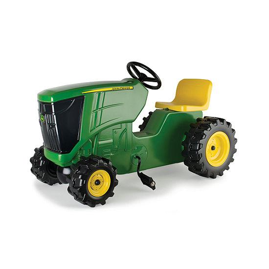 1e4f732411 ERTL - John Deere Plastic Pedal Tractor - JCPenney