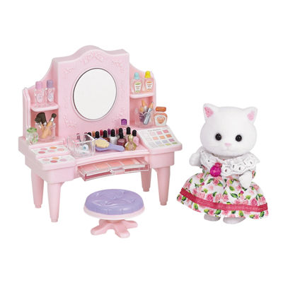 Calico Critters - Cosmetic Counter with Nora Persian Cat