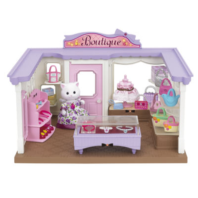 Calico Critters - Boutique Playset with Cecilia Persian Cat