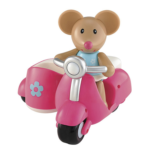 International Playthings - ELC Toybox Martha Mouse and her Scooter