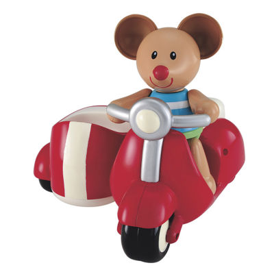 International Playthings - ELC Toybox Max Mouse and his Scooter