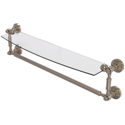 Allied Brass Prestige Skyline Collection 36 Inch Towel Bar With Integrated Hooks