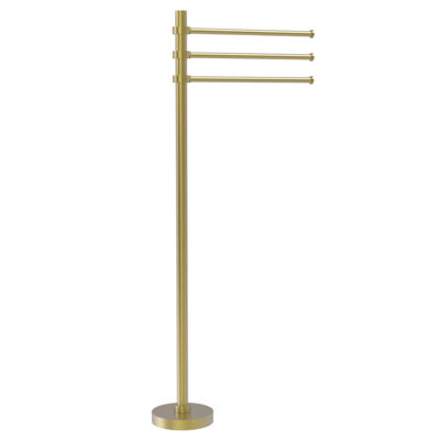 Allied Brass Towel Stand with 3 Pivoting 12 Inch Arms