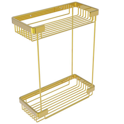 Allied Brass Double Tier Rectangular Toiletry Shower Basket