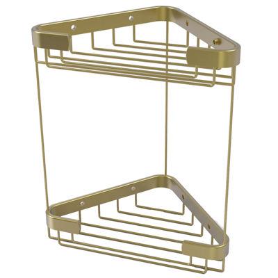 Allied Brass Double Tier Corner Shower Basket