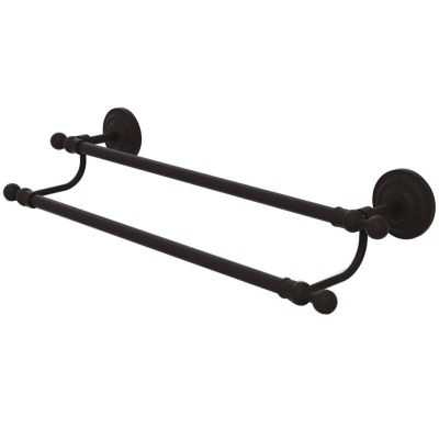 Allied Brass Que New Collection 24 Inch Double Towel Bar